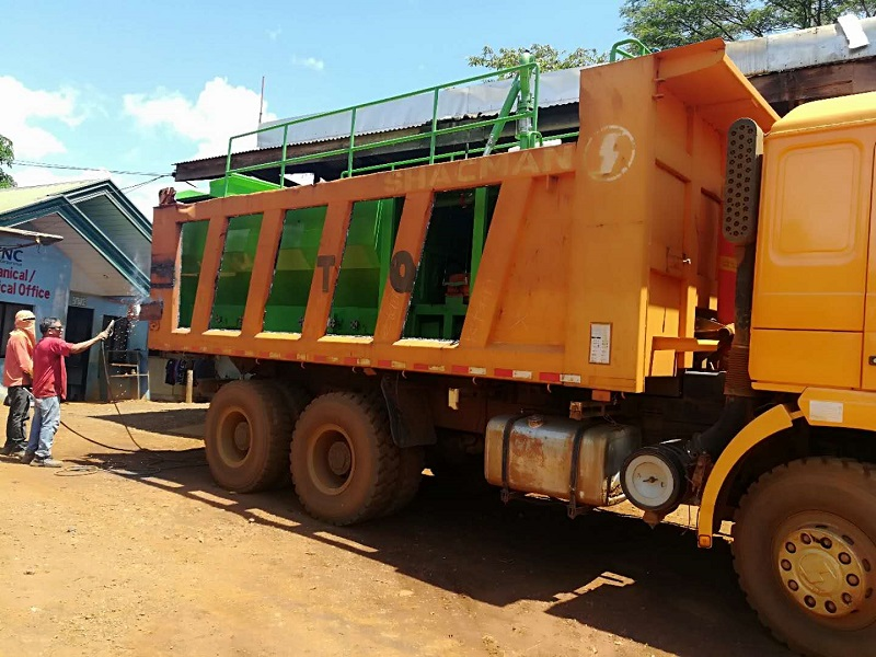 矿山绿化喷播机